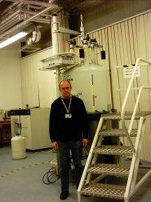 Picture of the NMR laboratory
